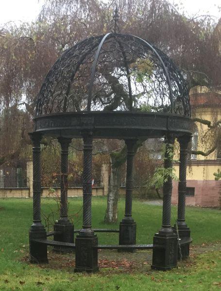 Säulenpavillon Gusseisen