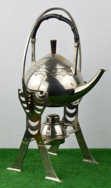 Art Deco Teekanne mit Ständer