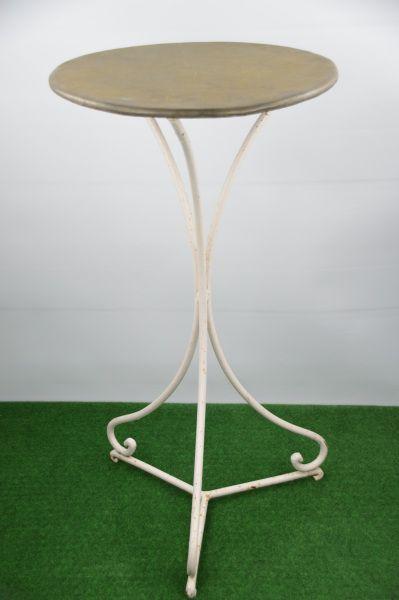 Tisch mit Zinkblech