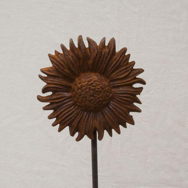 Blumenstecker Sonne
