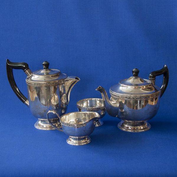 Tee und Kaffeeset 4 teilig