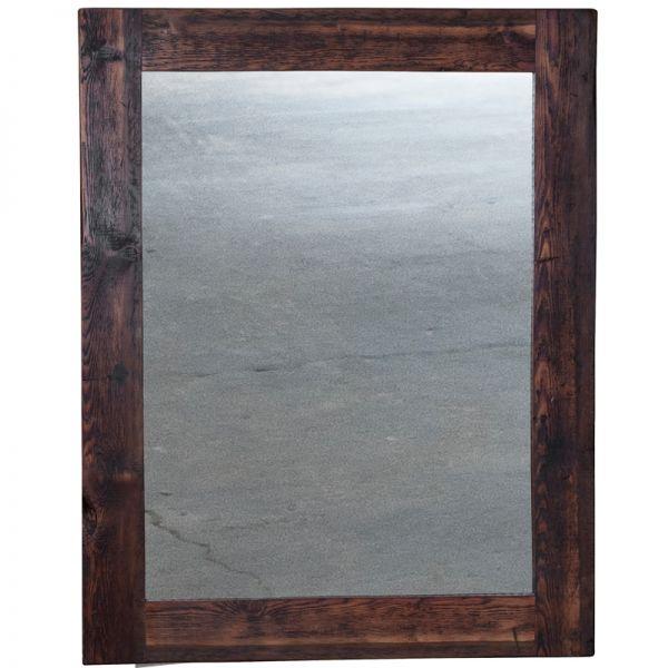 Spiegel mit Timberrahmen