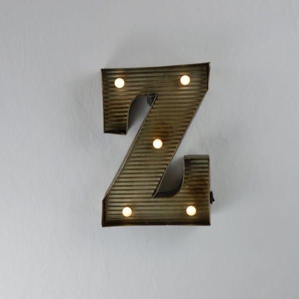 """Zinkblechbuchstabe""""Z"""""""