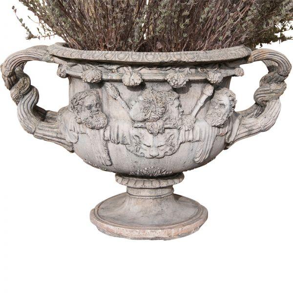 Warwick Vase in der Farbe grau