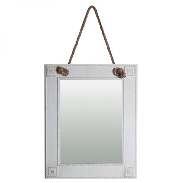 Spiegel mit Kordel